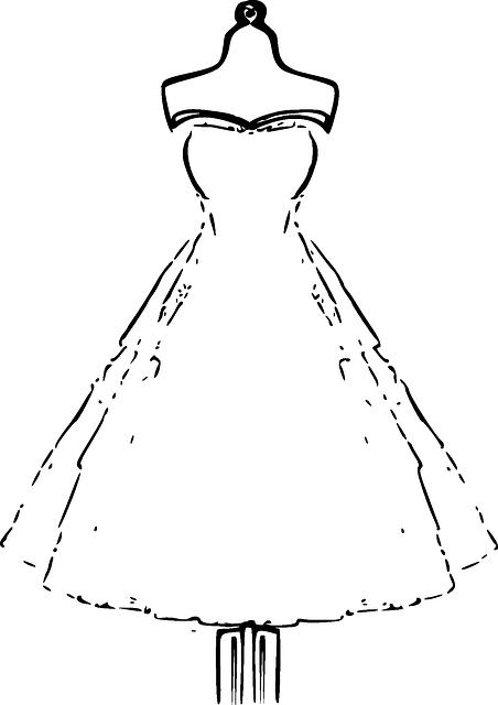 Pixabay De Ucretsiz Goruntuler Gelin Elbise Manken Dugun Gelin Vintage Clip Art Boyama Sayfalari Mankenler