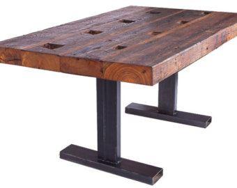 Carolina Pine Office Table Handmade Hardwood Furniture Design - Handmade conference table