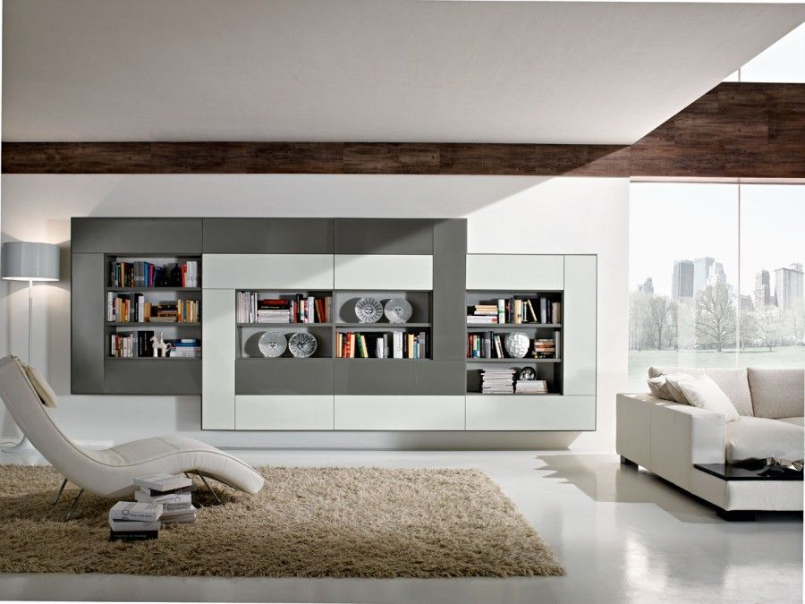 Lcd wall unit designs for hall 2015 2016 tv units pinterest wall unit designs hall and tv - Luxurious interior design with modern glass and modular metallic theme ...
