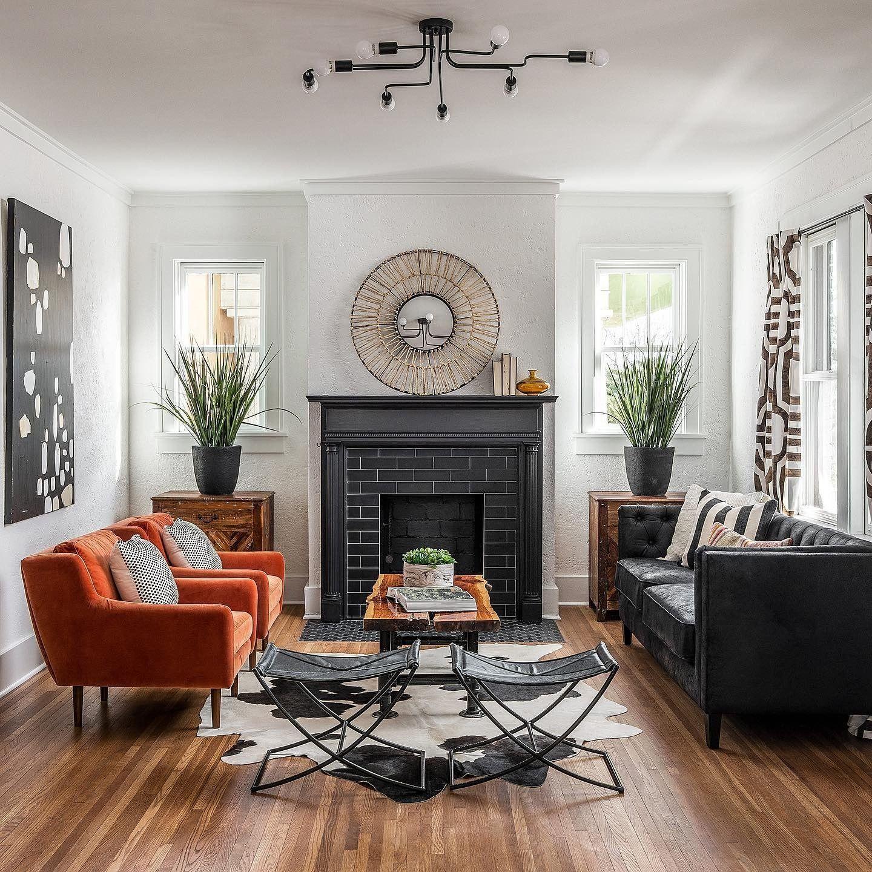 Matrix Persimmon Orange Chair in 9  Orange chairs living room