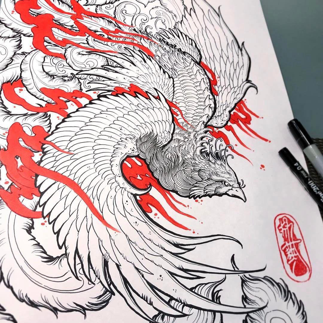 Ave Fenix Japanese Tattoo Tattoo Designs Japanese Tattoo Designs