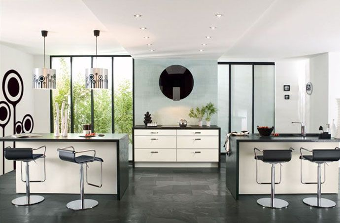 23 modern french kitchens