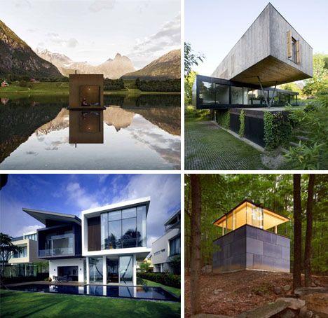 Square Shaped Homes Plans Box House Design House Design