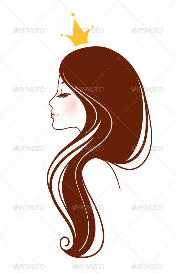 hair vector cartoon woman beauty adult face silhouette drawing illustration character lash female doodle person extension graphic characters sketch drawings