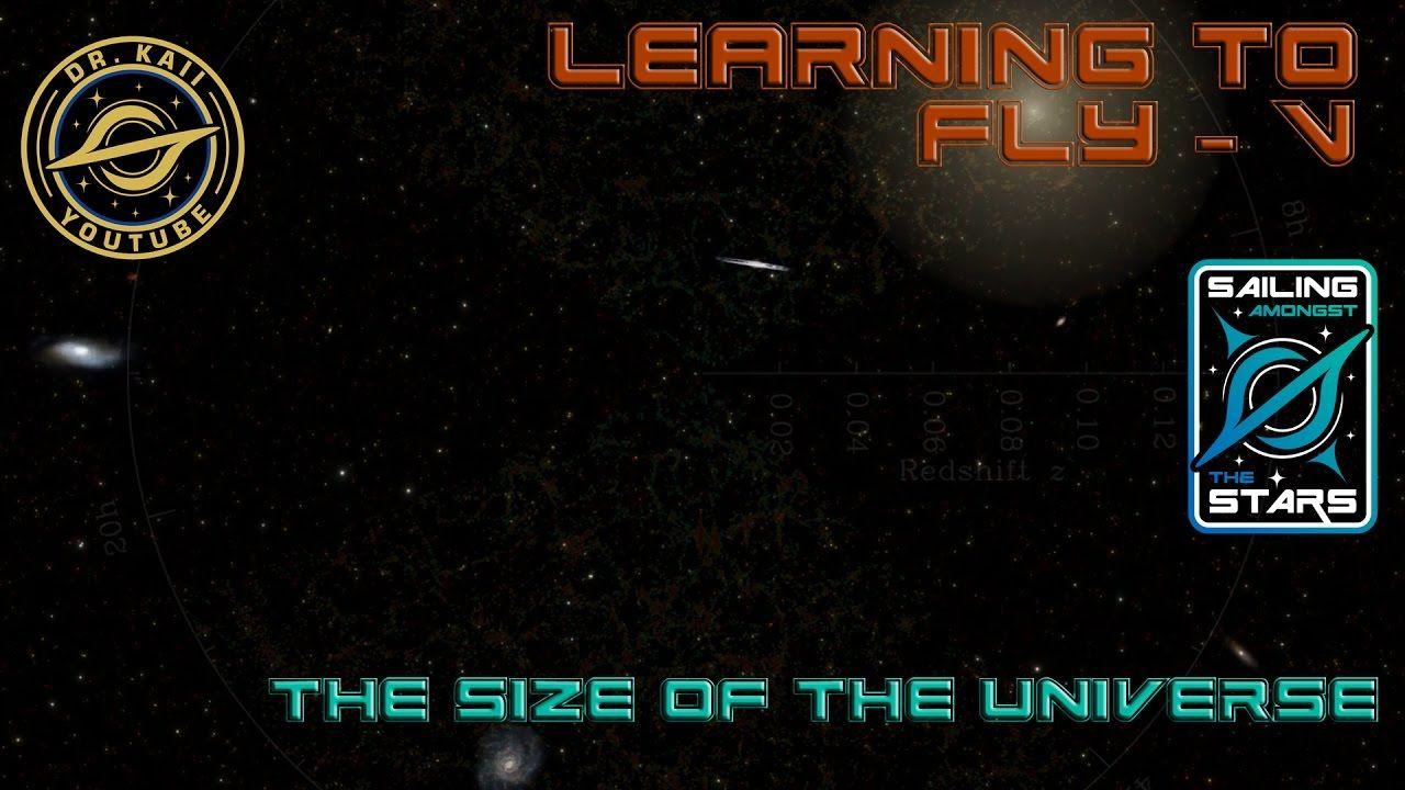 size of the universe video - Siteze