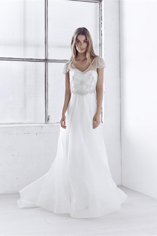 Anna Campbell Ceremony Collection Vienna Organza Wedding Dress ...
