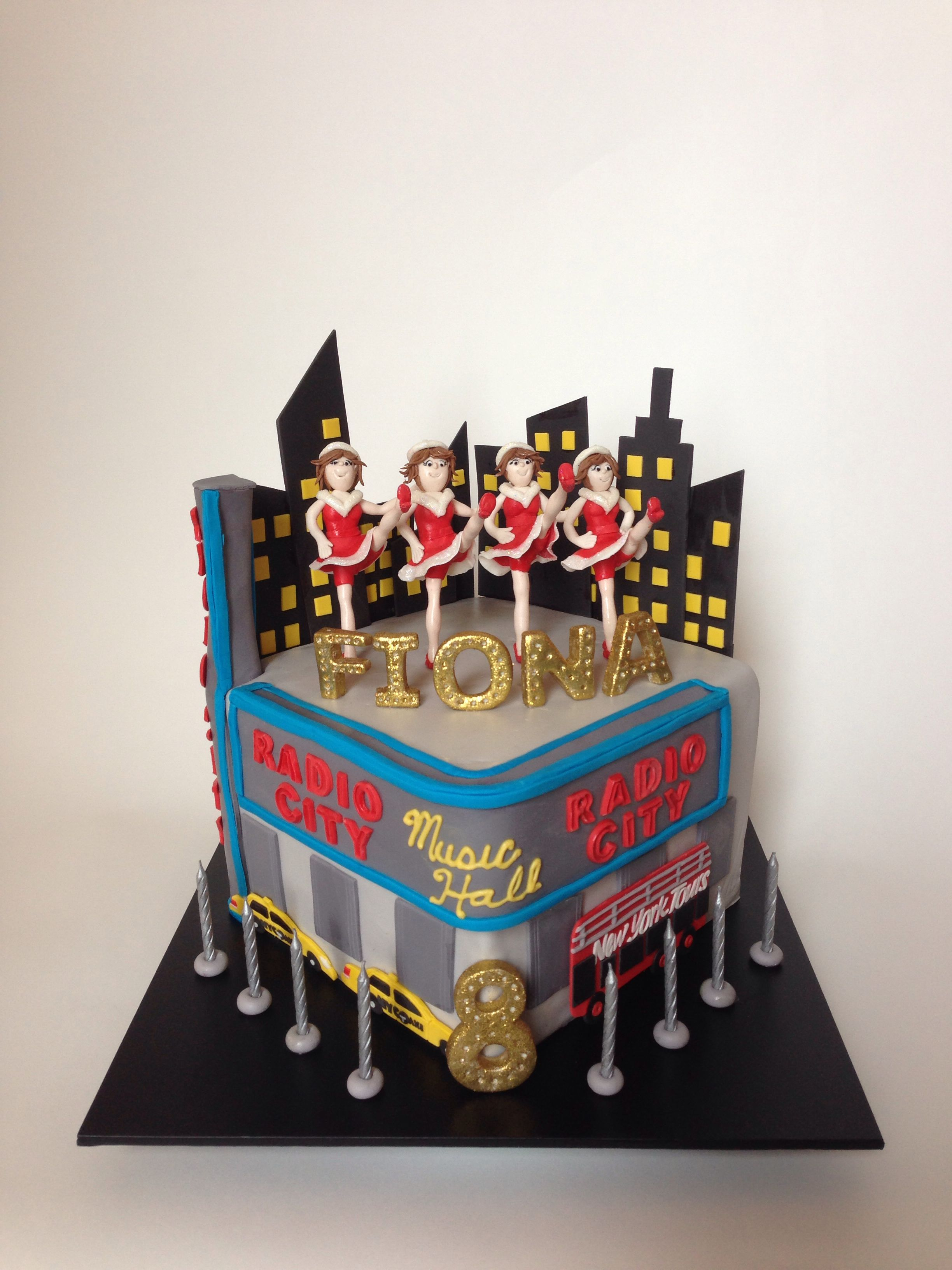 Rockettes Cake Hadley How To Make Bakery Birthday Ideas Bread Shop
