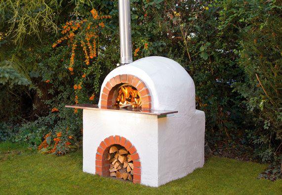 Die Obi Selbstbauanleitungen Steinofen Pizzaofen Garten