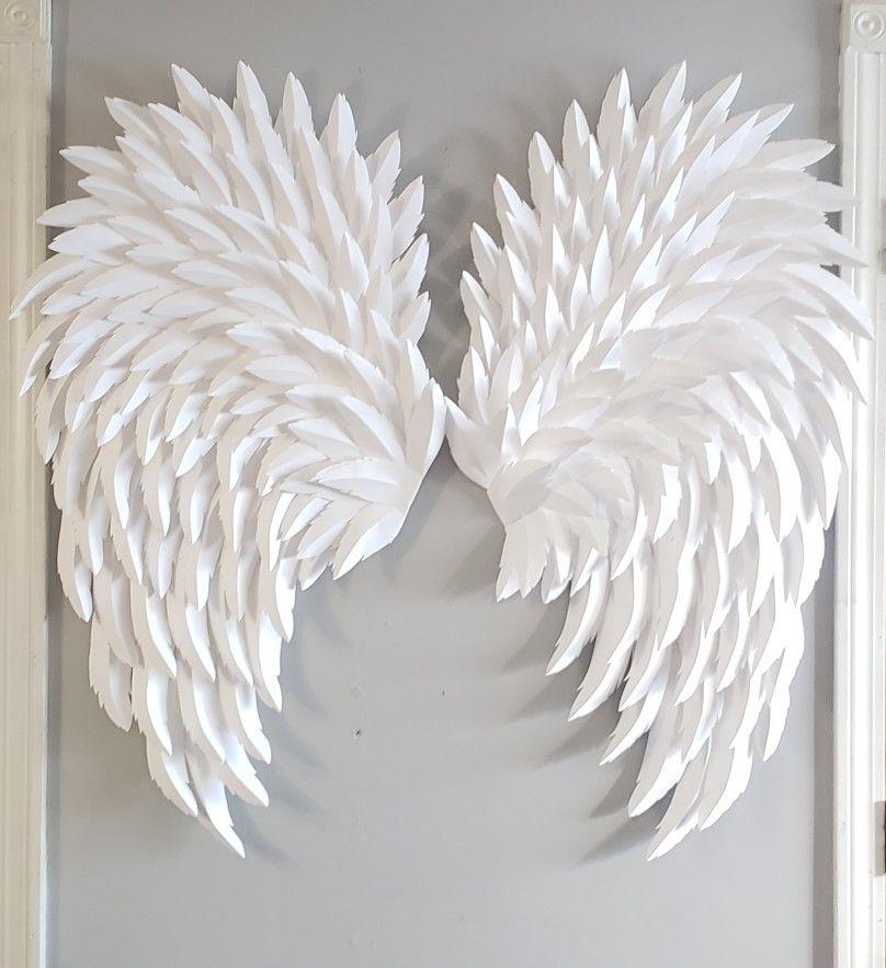 Giant Paper Angel Wings Paper Angel Diy Angel Wings Diy Wings