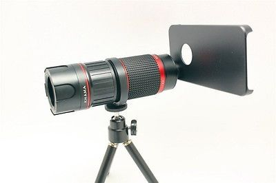 New zoom magnification telephoto telescope lens for