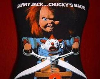 CHILD'S PLAY diy tank top girly horror movie reconstructed Chucky girlie shirt singlet  xs s m l xl