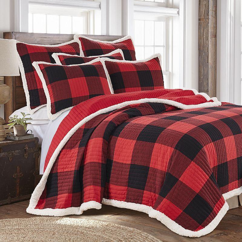 Levtex Home Thatch Home Buffalo Peak Plaid Quilt Or Sham Flannel Duvet Cover Buffalo Plaid Bedding Plaid Bedding