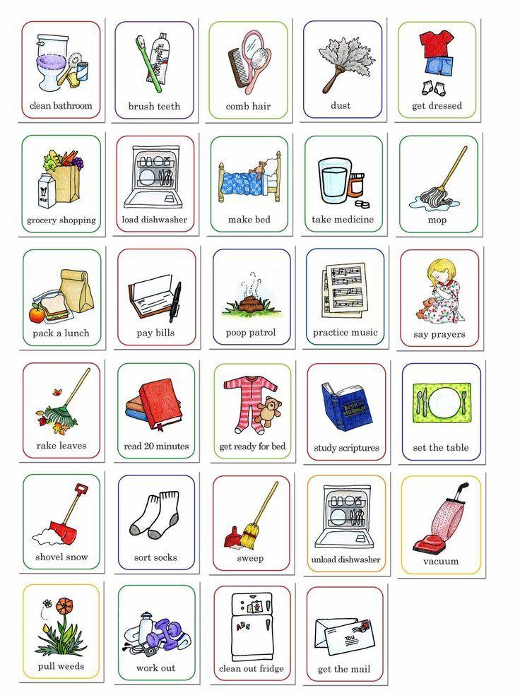 susan fitch design: job chart illustrations | Organize: Free ...