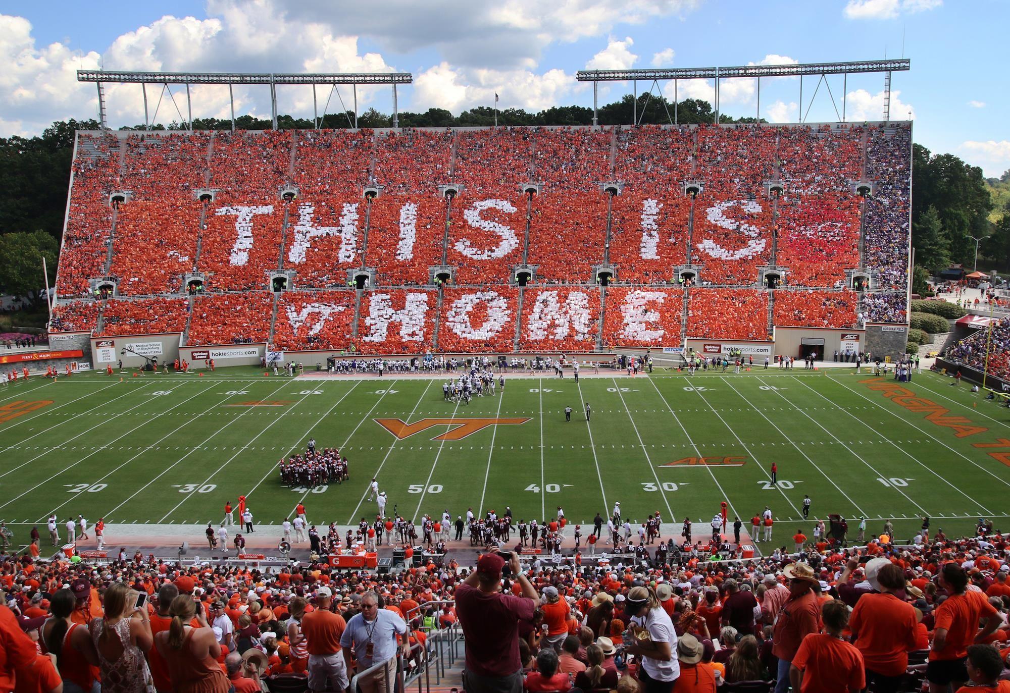 Virginia Tech announces football schedule changes
