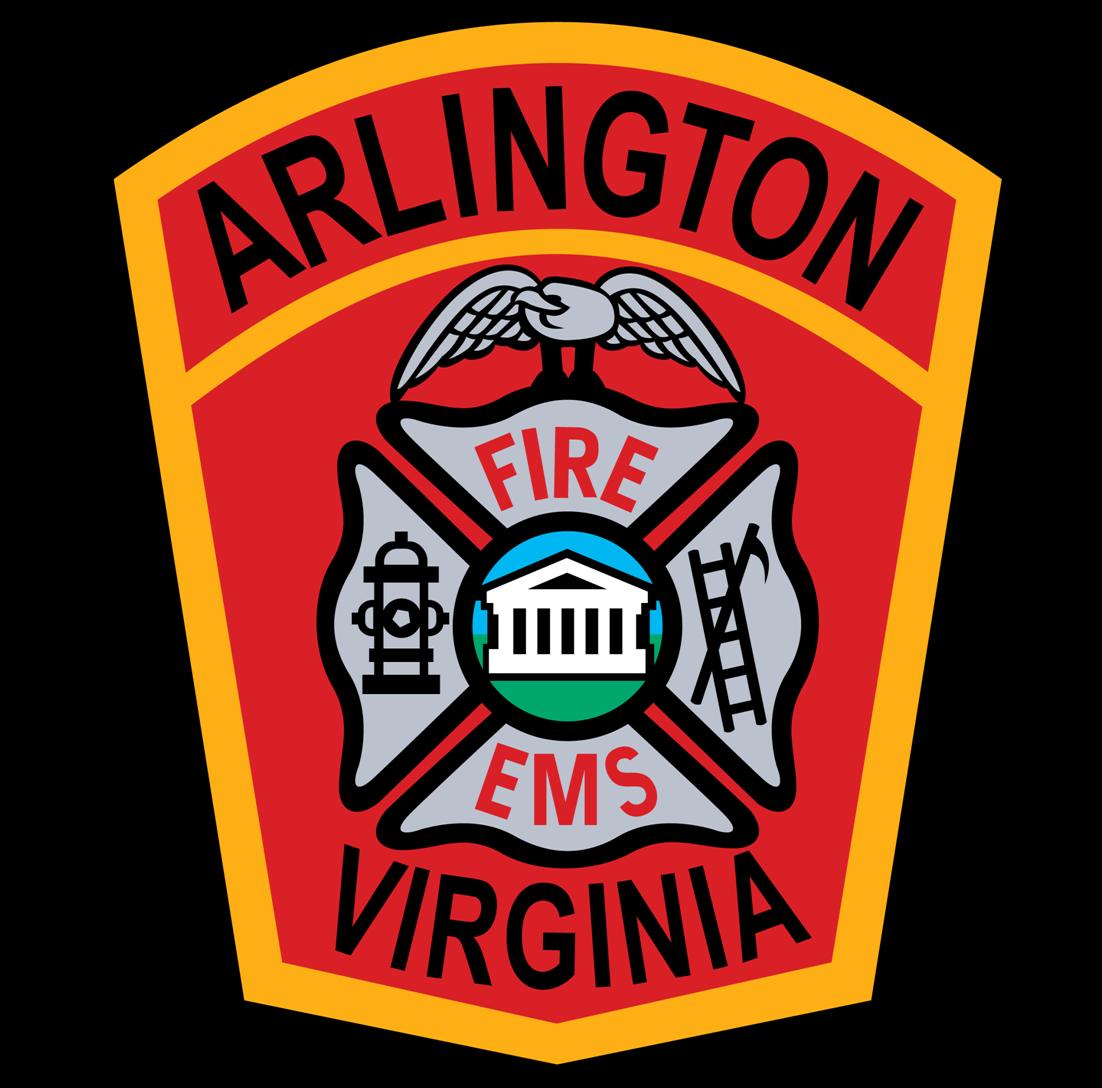 Arlington County Fire Department Fire Department Fire Dept Logo Fire Station