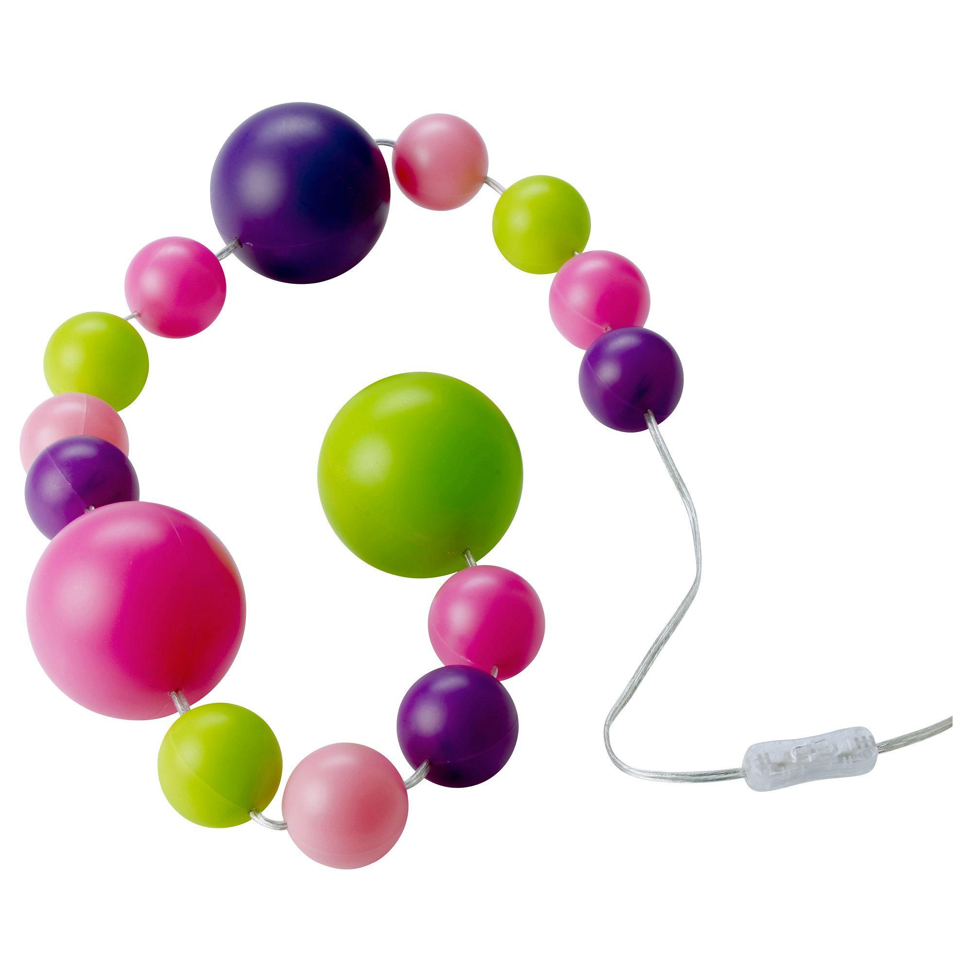 Finfin Guirlande Lumineuse Led 15 Boules Ikea Déco Perles