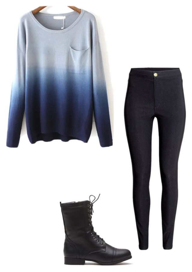 """""""Untitled #285"""" by vlhuerta ❤ liked on Polyvore featuring H&M"""