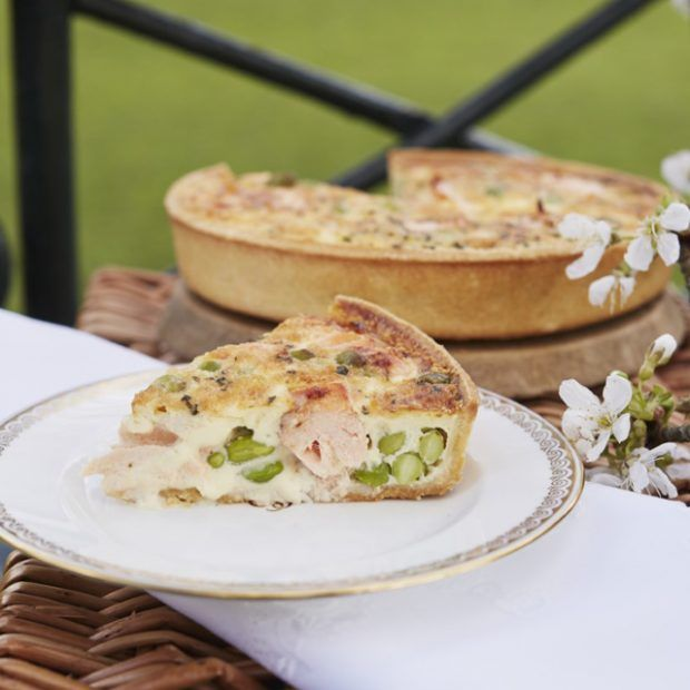 Buckingham Palaces Salmon Broad Bean And Tarragon Quiche In 2018