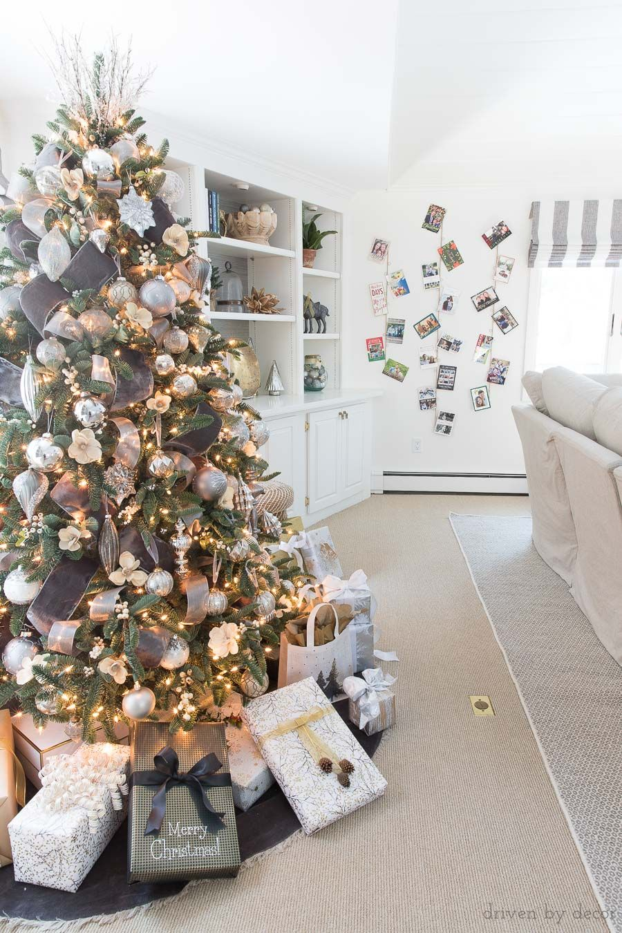 Decked + Styled Christmas Tour: My 2017 Holiday Home | Christmas ...