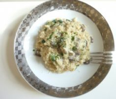 Risotto aux champignons et courgettes par rboni - recettes de la catégorie Pâtes & Riz