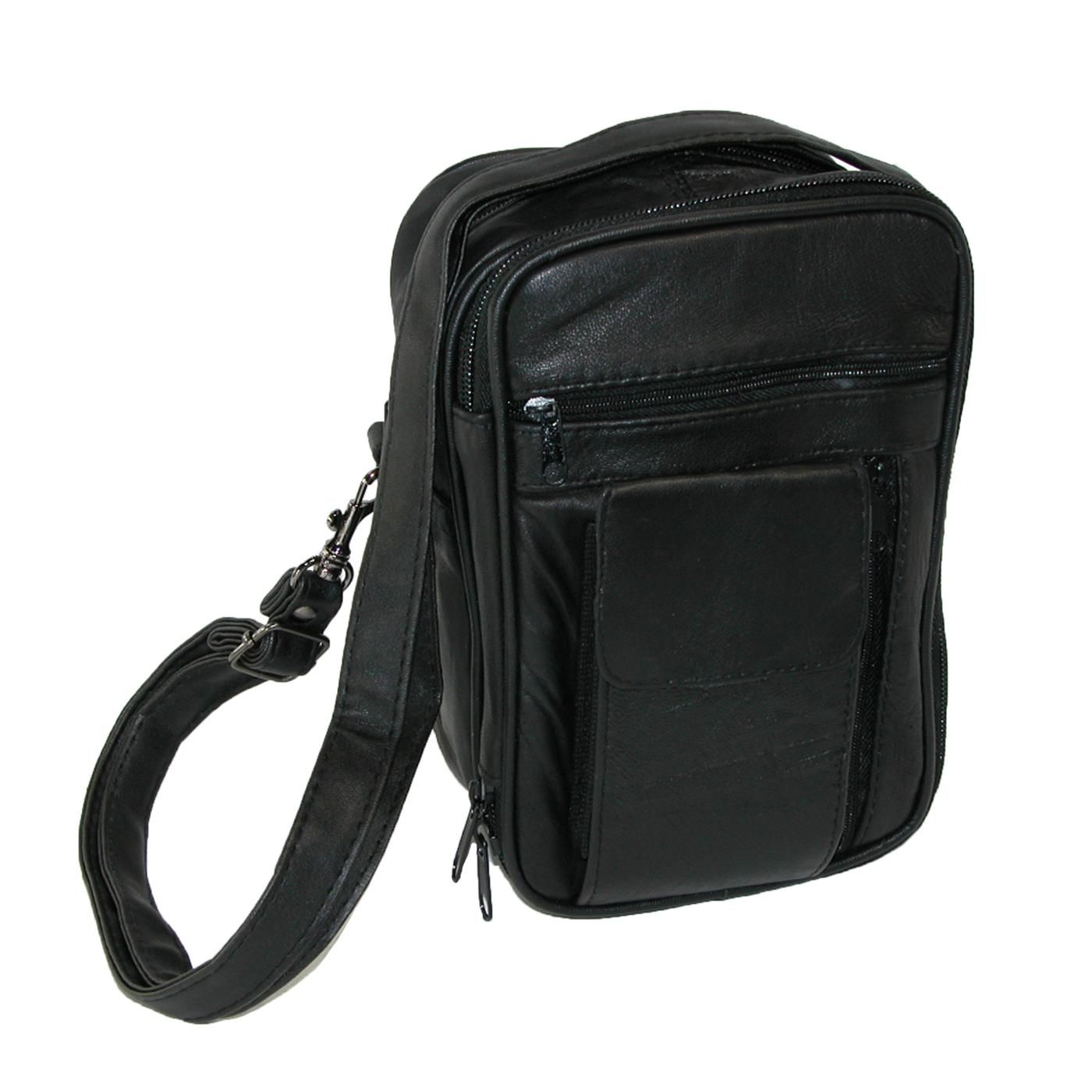 bca82f8a6b76 All-in-one man bag can store your valuables, cell phone and business ...