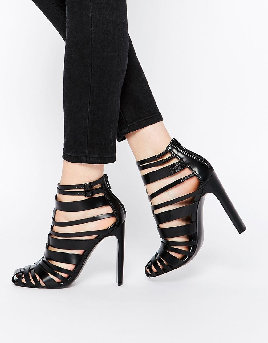 Buy Women Shoes / Asos Persuasion Caged Heels