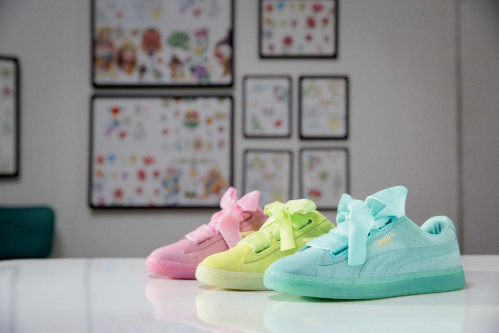 PUMA SUEDE HEART | Shoes | Ayakkabılar, Tarz moda ve Spor