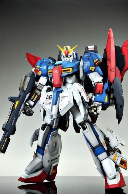BANDAI - Model Kit Gunpla - Gundam PG MSZ-006 Gundam Z 1/60