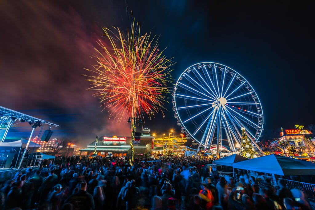 Ring in 2019 with New Years Festivities in the Smokies