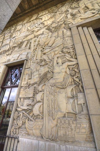 Cité Nationale De L'histoire De L'immigration : cité, nationale, l'histoire, l'immigration, Cité, Nationale, L'histoire, L'immigration,, Paris, Mural,, Vintage, World, Maps,