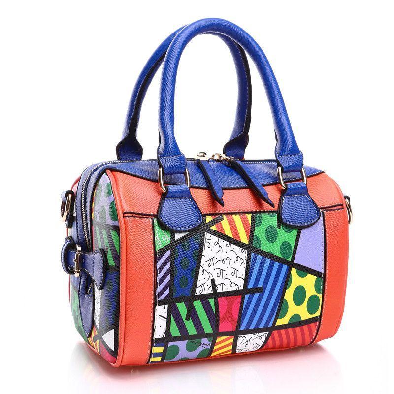 Romero Britto Handbag Size 20cm