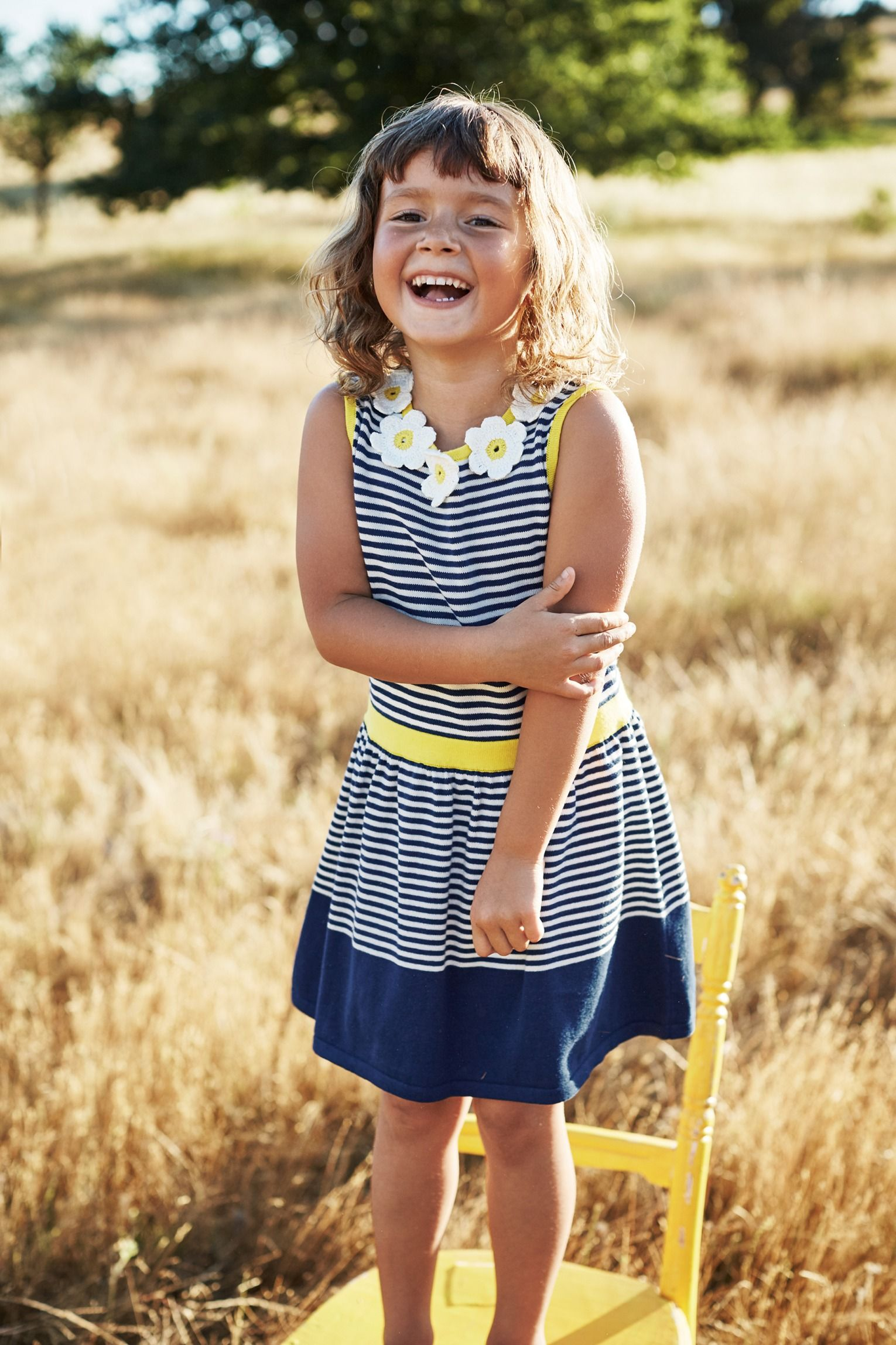 Not just for special occasions, this lovely knitted dress with ...