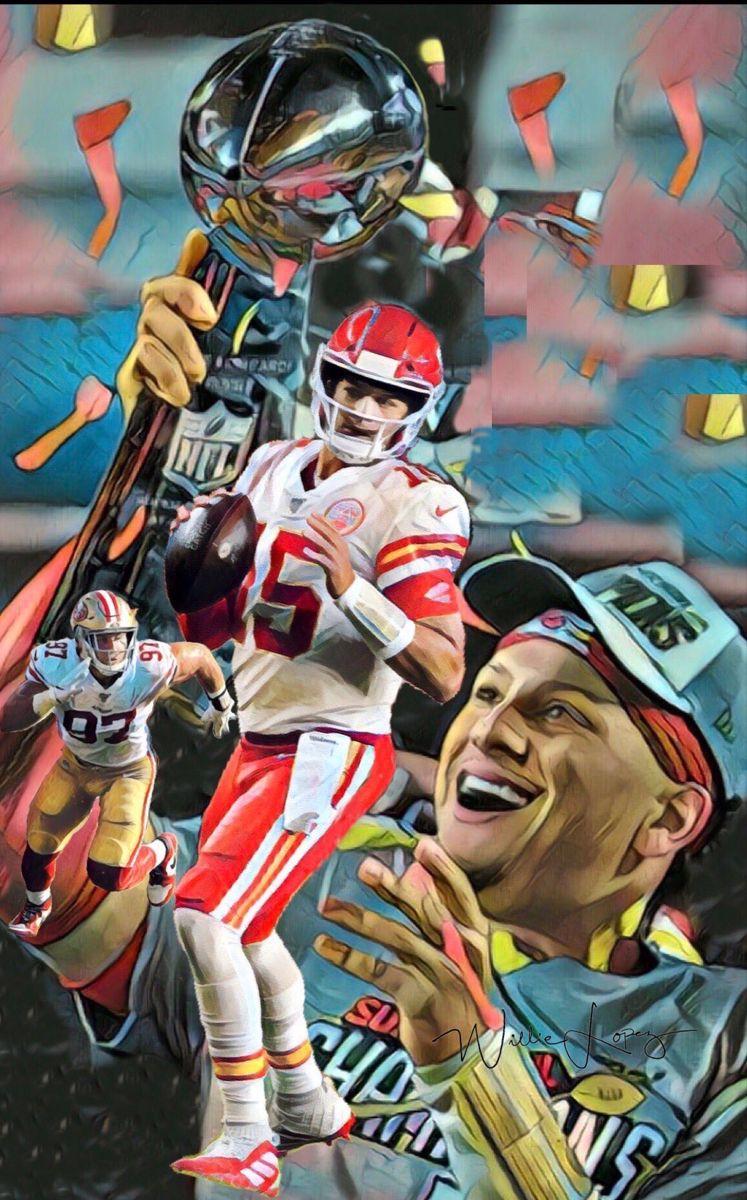 Super Bowl 54 Champion Kansas City Chiefs In 2020 Kansas City Chiefs Football Kansas City Chiefs Super Bowl