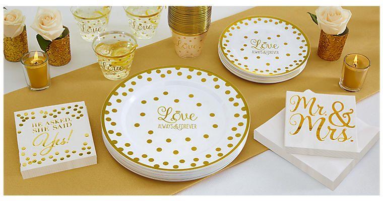 Wedding Reception Supplies Wedding Reception Tableware Party City Wedding Tableware Wedding Reception Supplies Diy Your Wedding