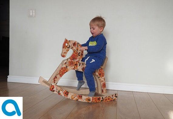 Eco Toys Nursery Rocking Horse