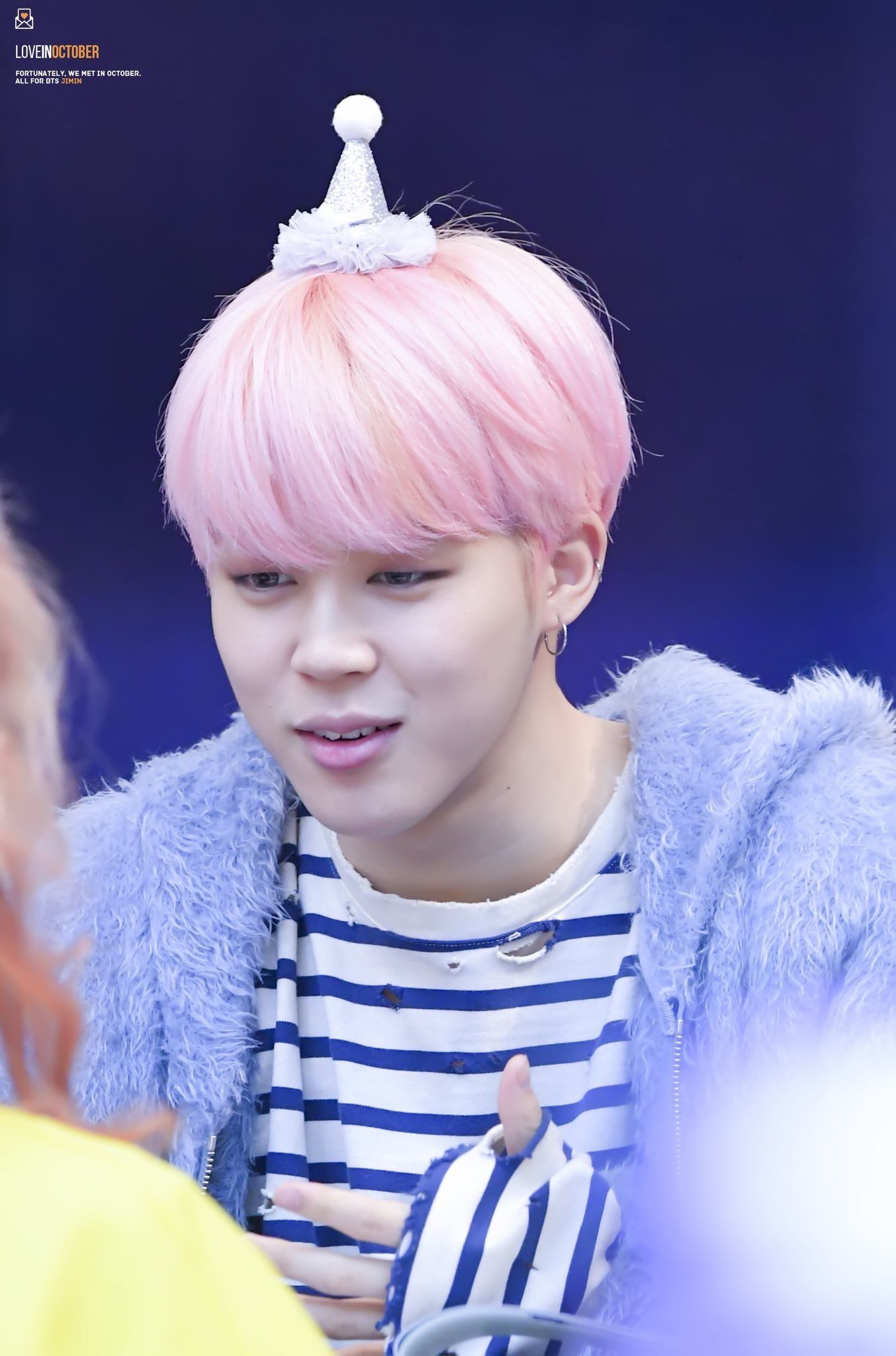 Jimin Pink Hair