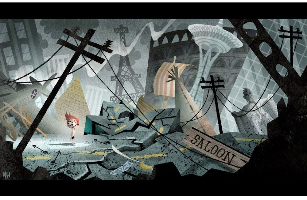 Mr. Peabody & Sherman concept art by Nate Wragg
