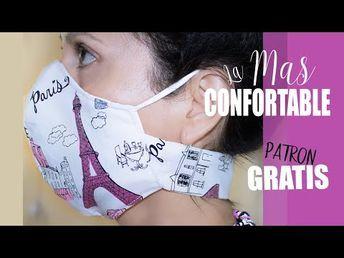 Photo of DIY Mascarilla con Ajuste de Velcro para el Cuello | El Cubrebocas MAS Confortable [PATRONES GRATIS]