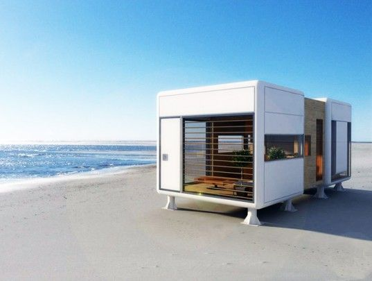 Chamfer Home: Tiny Self Sufficient House Operates Off Grid In Any Locale