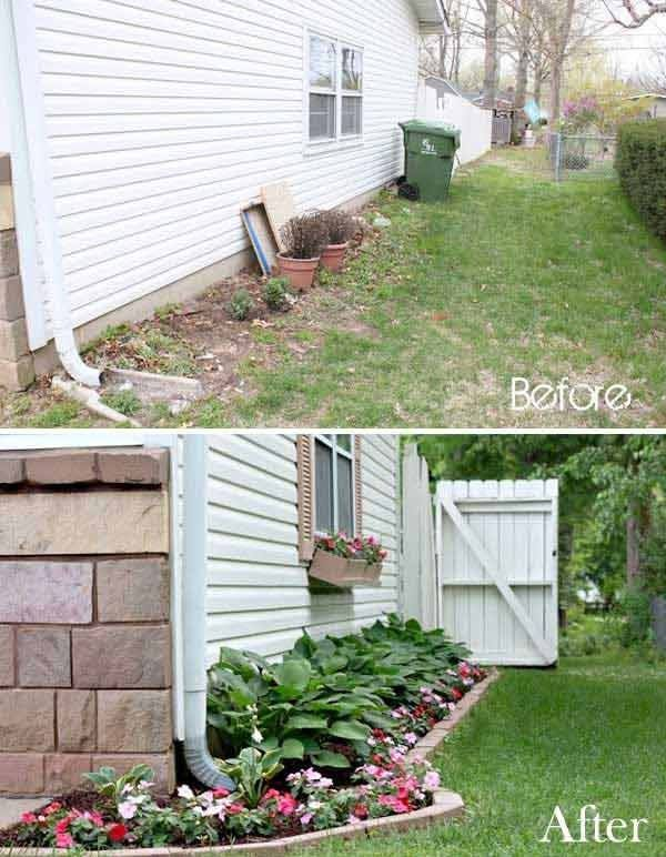 20 Easy and Cheap DIY Ways to Enhance The Curb Appeal Jardins - amenagement allee exterieur maison