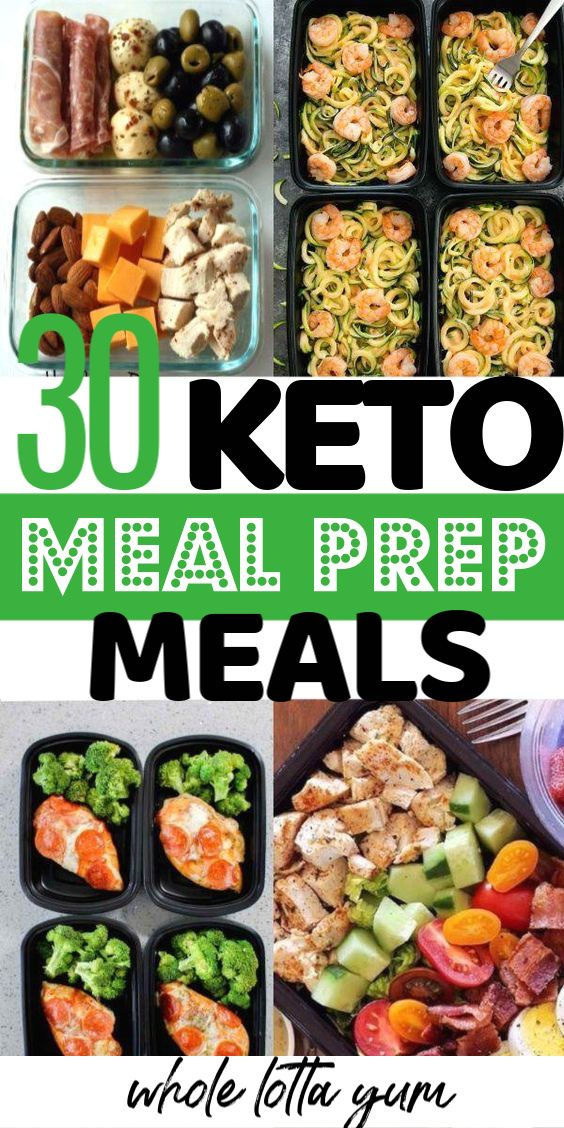 30 BEST Keto Meal Prep Recipes -   18 meal prep recipes for weight loss keto ideas