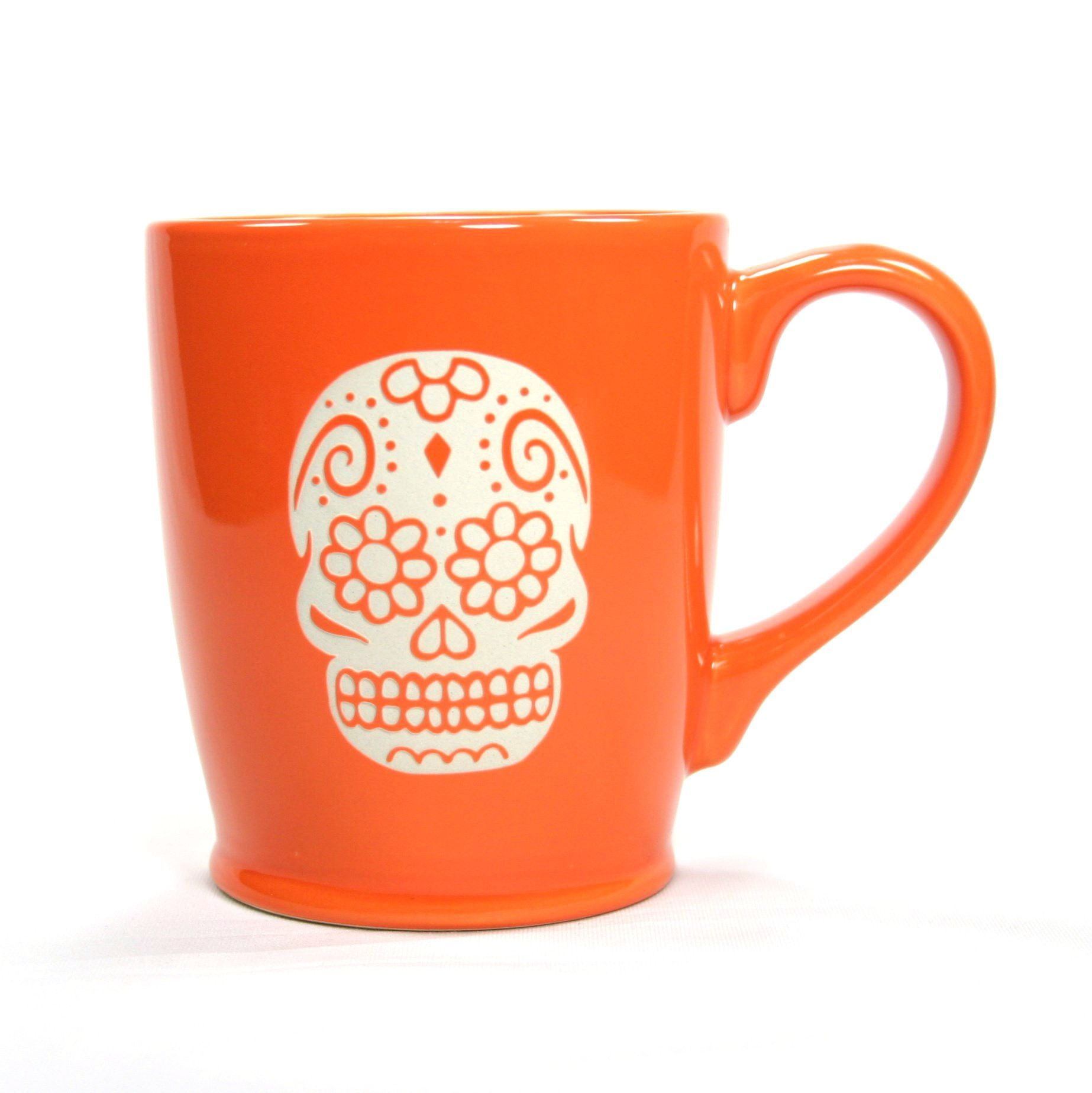Fancy Cappuccino Cups Celebrate The Day Of The Dead With This Fancy Sugar Skull