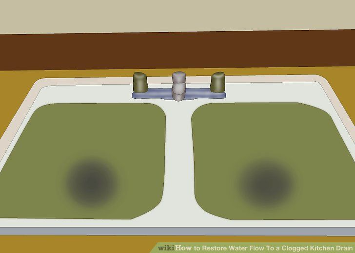 Restore Water Flow To a Clogged Kitchen Drain | Plumbing Tips ...