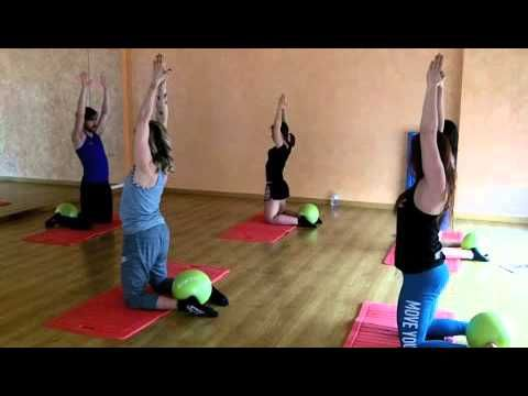 Pilates Mat Class Using An Elastic Band With Amit Younger Preview Youtube Total Body Workout Challenge Pilates Workout Videos Pilates Workout