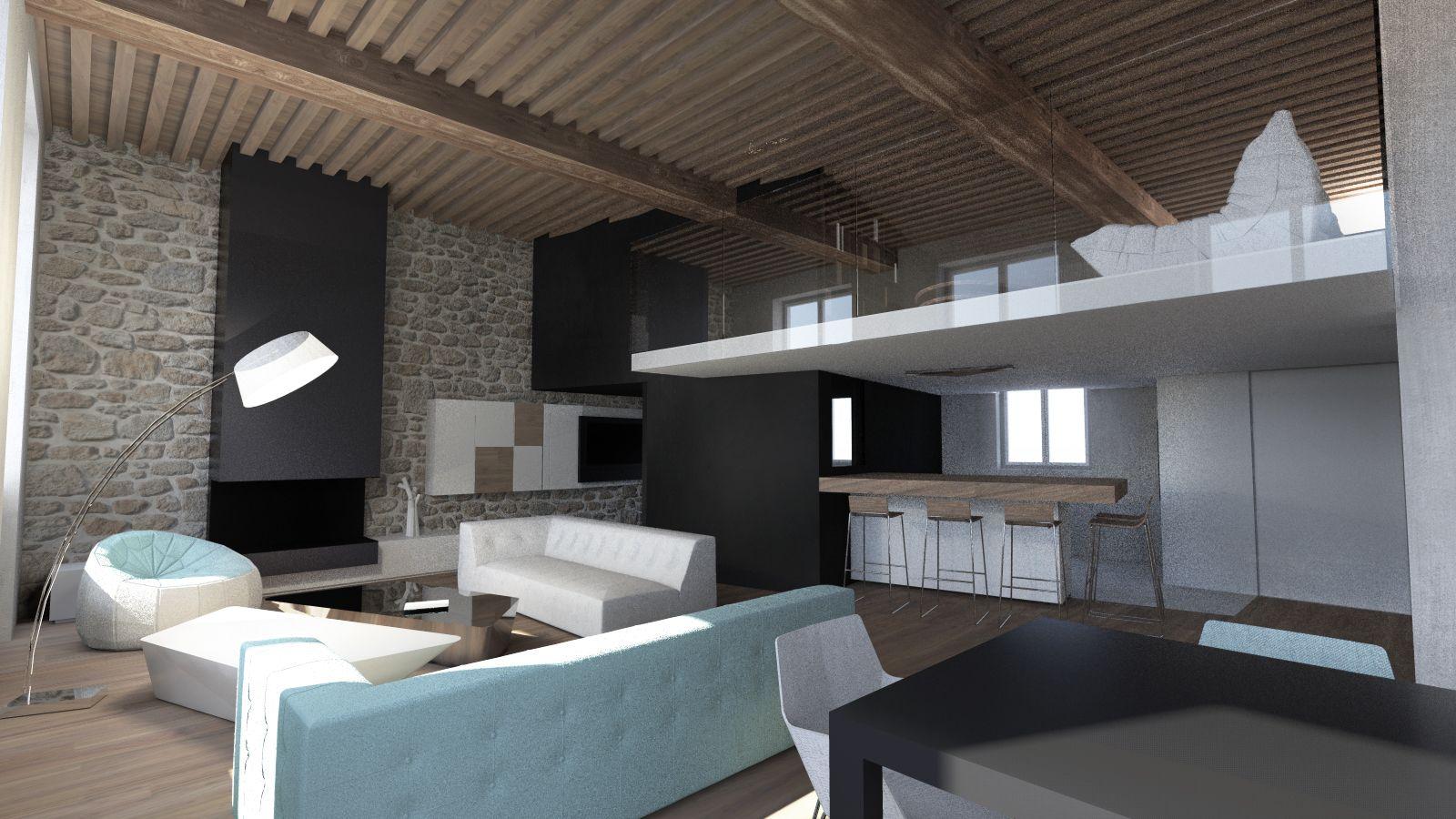 Modern duplex in lyon by a2-sb architectes | I N T E R I O R ...