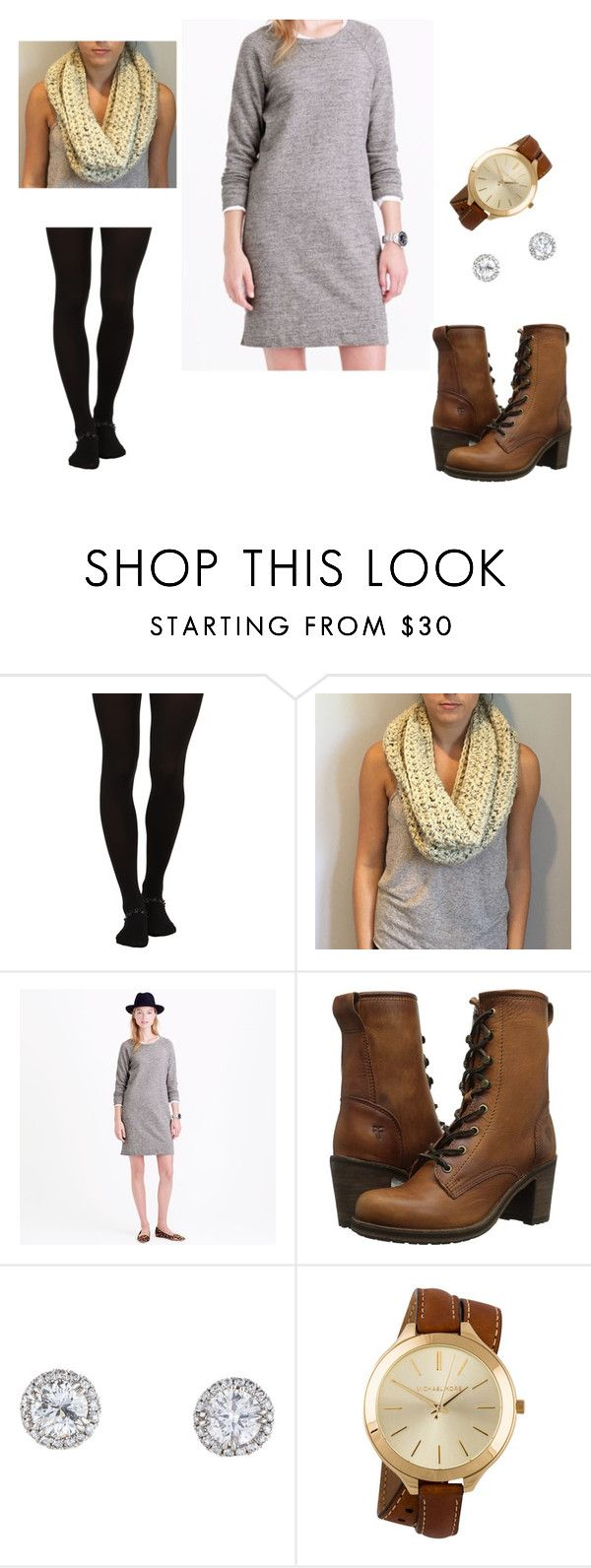 """Untitled #20"" by oliviaf14 on Polyvore featuring Wolford, Frye and Michael Kors"