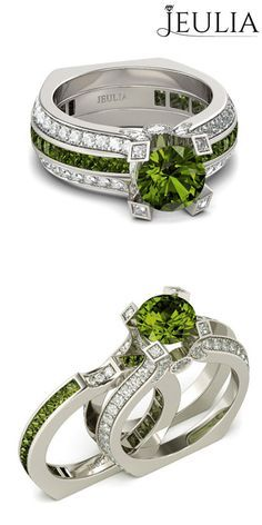 Interchangeable Round Cut Sterling Silver Ring Set In 2018 All