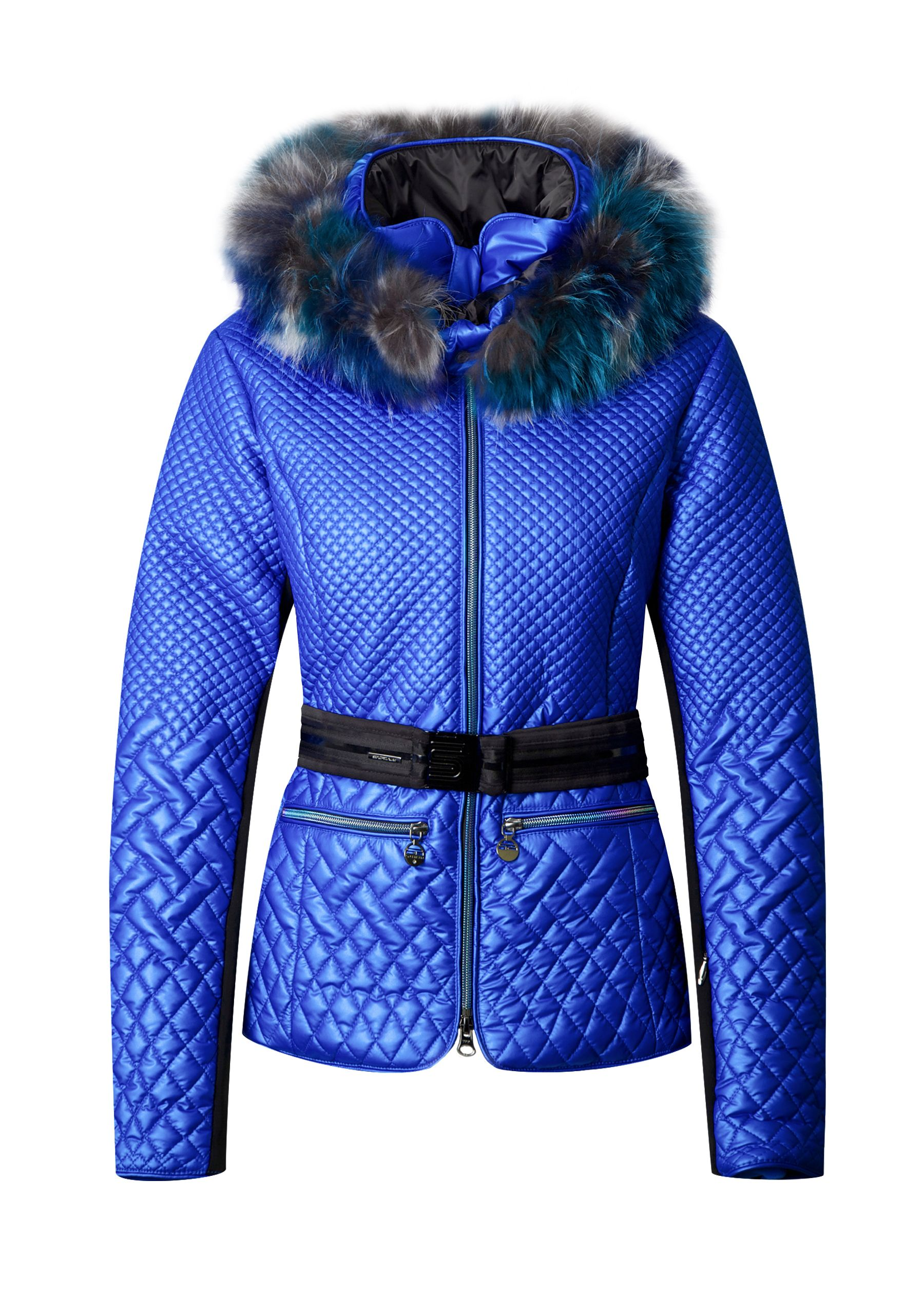 3e00a9b296 Sportalm Constrictor ski jacket - bright electric blue for the mountains!