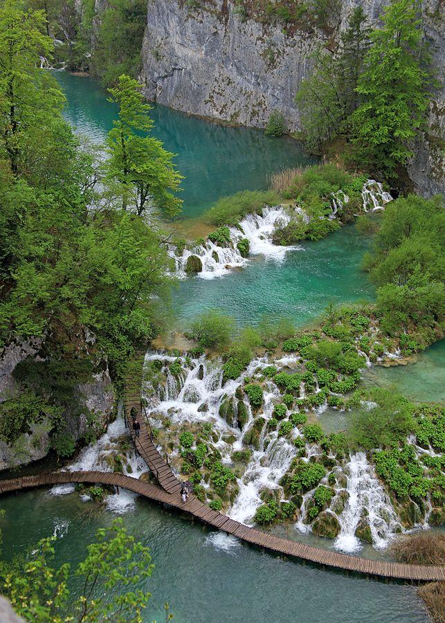 Croatia, Plitvicka Jezera National Park by Helen