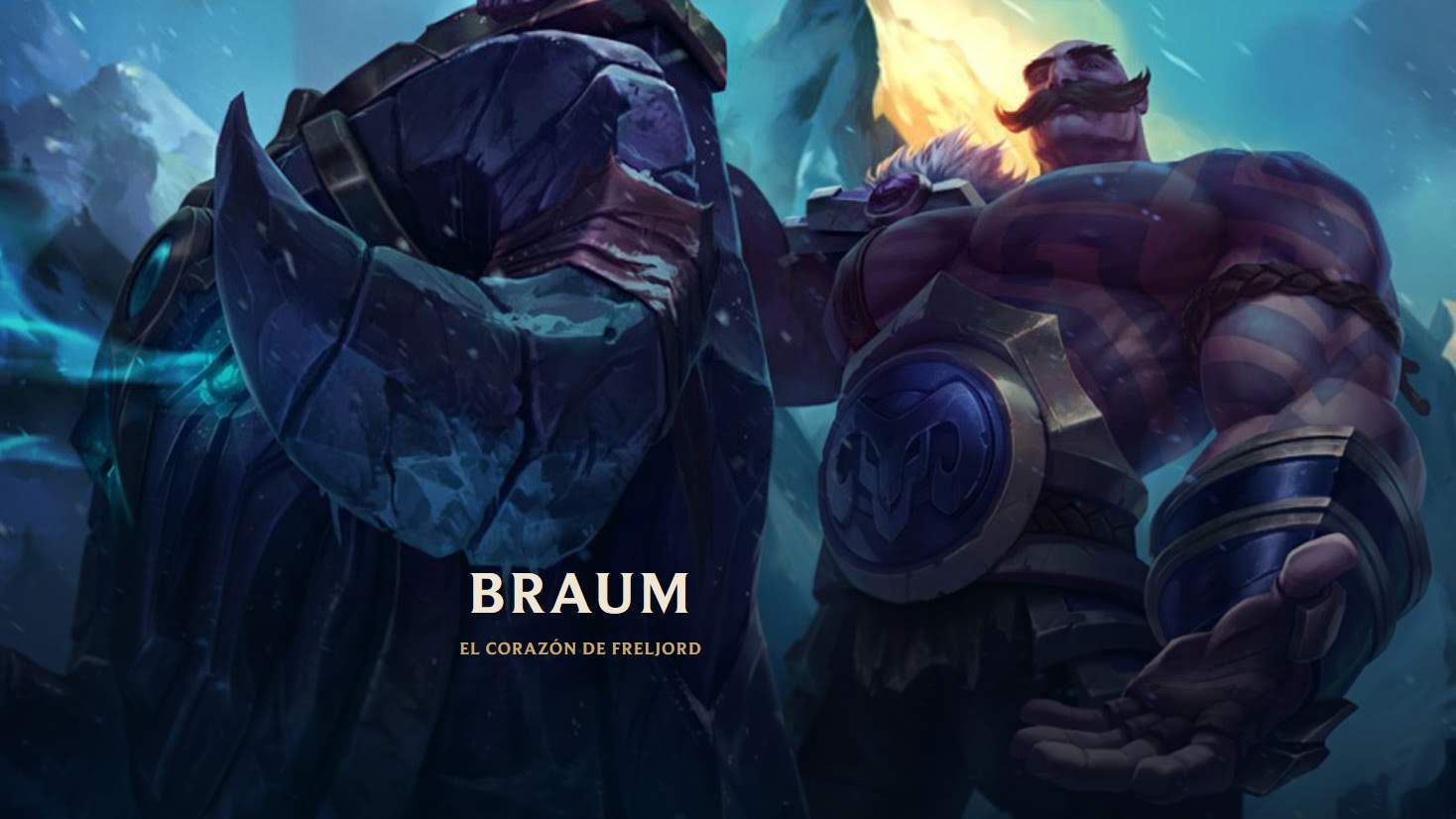 Braum 60 Campeones Del Universo De League Of Legends Background Wallpapers Hd 2019 League Of Legends Braum S Defensor
